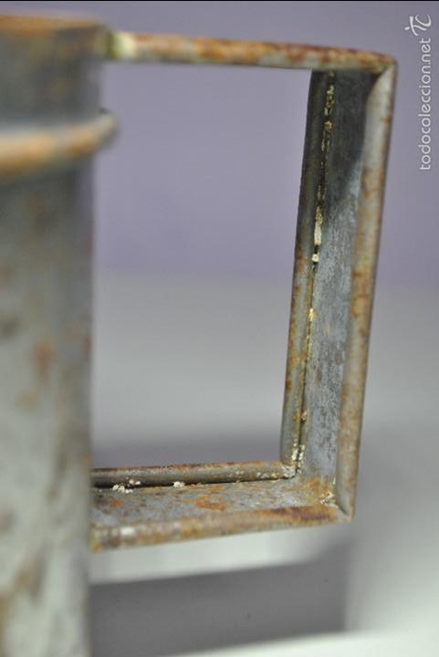 Antigüedades: ANTIGUO VASO MEDIDOR DE ACEITE DE OLIVA 1 LITRO- ARAGÓN - Foto 9 - 60493751