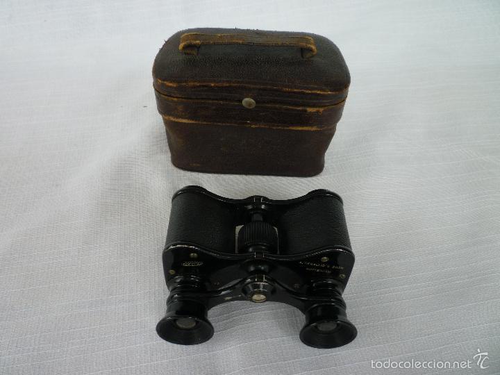 Antigüedades: PRISMÁTICOS DE ÓPERA ASPARIS DE 1932 FABRICADOS EN ROTTERDAM - Foto 2 - 60523143