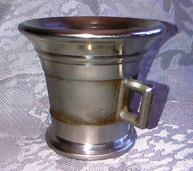 Antigüedades: Almírez de Metal. Laboratorios LEO. - Foto 8 - 60644051