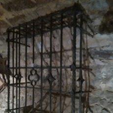 Antigüedades: REJA SIGLO XVI DE FORJA. Lote 60649482