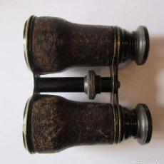 Antigüedades: ANTIGUOS PRISMATICOS MINI FORRADOS EN CUERO. Lote 60656007
