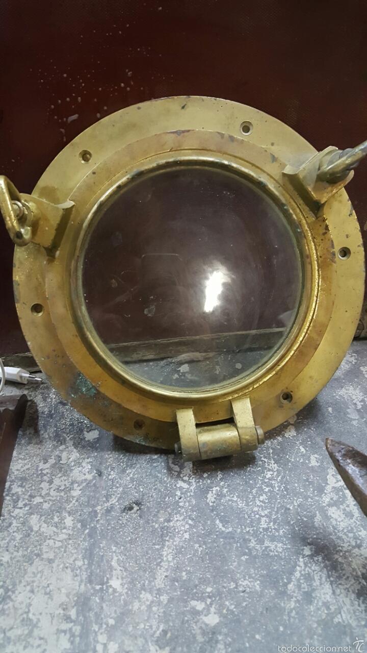 Antiguo ojo de buey ventana de barco de bronc comprar - Antiguedades de barcos ...