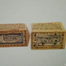 Antigüedades: LOTE DE 2 FUNDAS DE MAQUINILLAS DE AFEITAR. Lote 60781066
