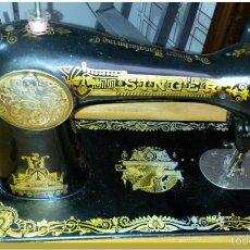 Antigüedades: MÁQUINA DE COSER SINGER, ORIGINAL PRINCIPIOS DE 1900. Lote 60832431