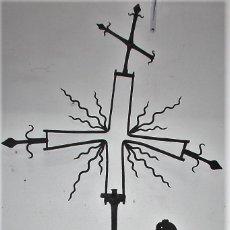 Antigüedades: ANTIGUA VELETA EN HIERRO FORJADO. BARROCO. ESPAÑA. SIGLO XVII / XVIII.. Lote 60855839