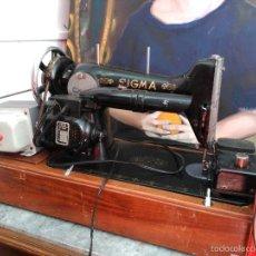 Máquina de coser SIGMA con adaptador de 125 y motor