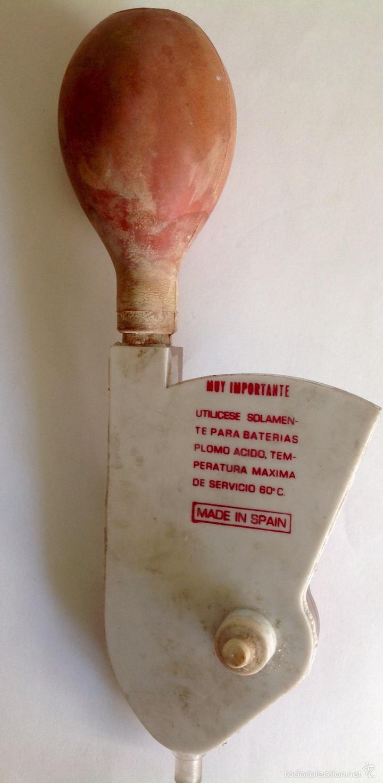 Antigüedades: Maquina de mecánico antigua, densimetro magnética - Foto 2 - 60917278