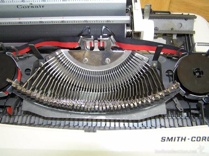Antigüedades: MAQUINA DE ESCRIBIR SMITH CORONA CON SU MALETIN - TYPEWRITER - Foto 25 - 60981727