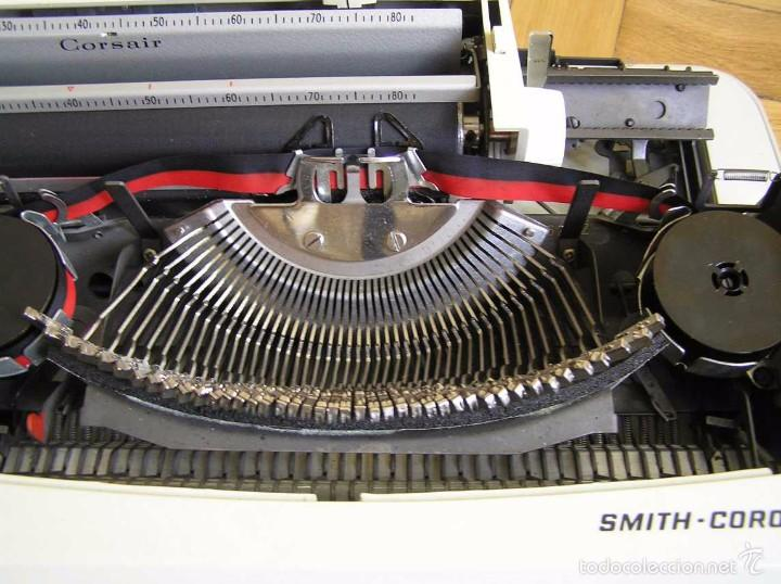 Antigüedades: MAQUINA DE ESCRIBIR SMITH CORONA CON SU MALETIN - TYPEWRITER - Foto 26 - 60981727