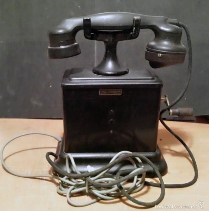 Teléfonos: TELEFONO ANTIGUO DE MANIVELA, MARCA BELL TELEPHONE - VER FOTOS - - Foto 3 - 60982651