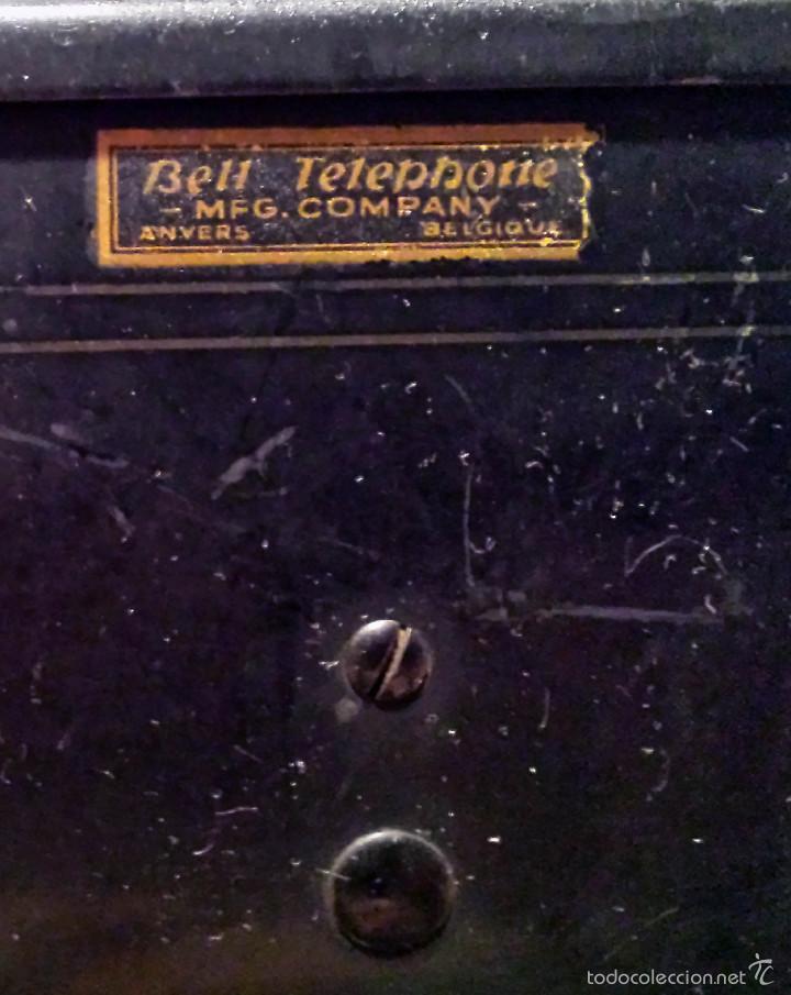 Teléfonos: TELEFONO ANTIGUO DE MANIVELA, MARCA BELL TELEPHONE - VER FOTOS - - Foto 4 - 60982651
