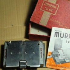 Antigüedades: MURAY CA. 816 AUTOMATIC SPLICER. EMPALMADORA DE PELICULA. PERFECTO ESTADO. Lote 61026299