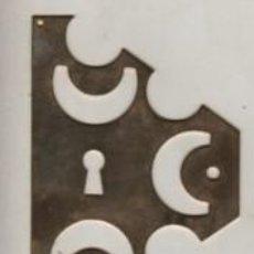 Antigüedades: BOCALLAVES BOCA LLAVES DE LATÓN EPOCA AÑOS 70 APROXMTE. Lote 61086999