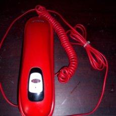 Teléfonos: TELÉFONO GÓNDOLA COLOR ROJO. MODELO MX ONDA-TF46. Nº SERIE: F002997N. ¡¡FUNCIONANDO!!.. Lote 61082547