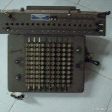 Antigüedades: ANTIGUA CALCULADORA MARCA RHEINMETALL. Lote 61216659