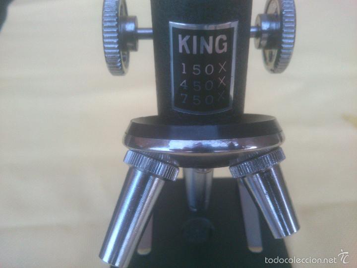 Antigüedades: ANTIGUO MICROSCOPIO KING - Foto 2 - 61227887
