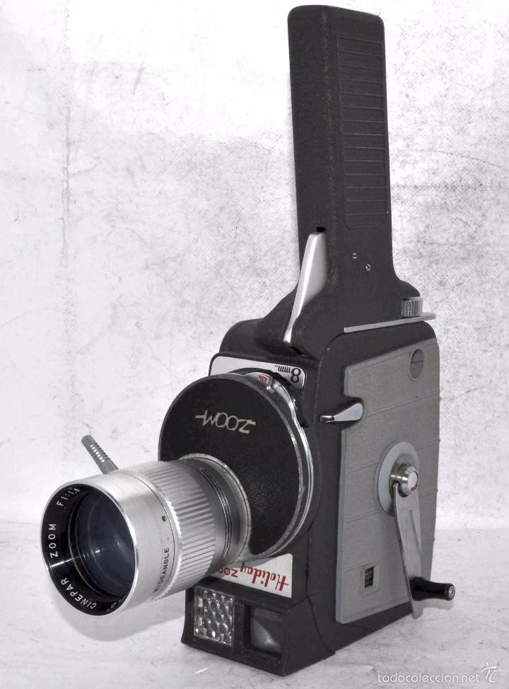 Antigüedades: EXCELENTE Y RARA CAMARA DE CINE A CUERDA..8mm..MANSFIELD HOLIDAY ZOOM MM..MUY BUEN ESTADO..FUNCIONA - Foto 5 - 61269607