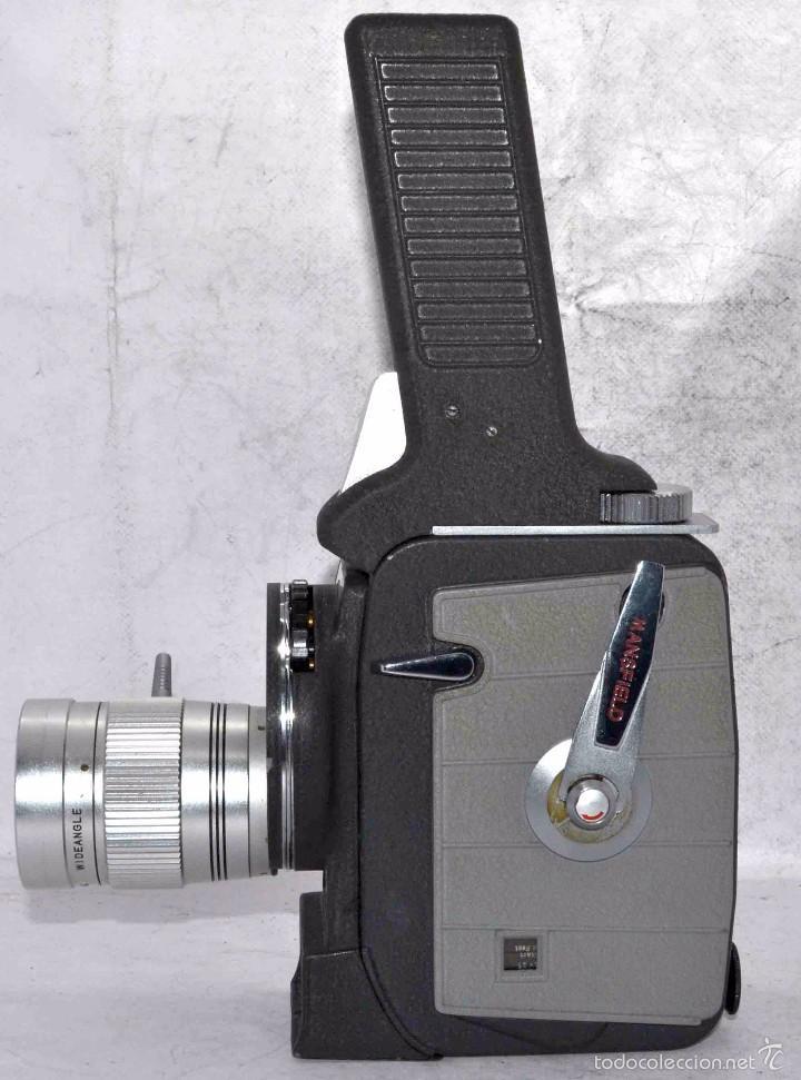 Antigüedades: EXCELENTE Y RARA CAMARA DE CINE A CUERDA..8mm..MANSFIELD HOLIDAY ZOOM MM..MUY BUEN ESTADO..FUNCIONA - Foto 6 - 61269607