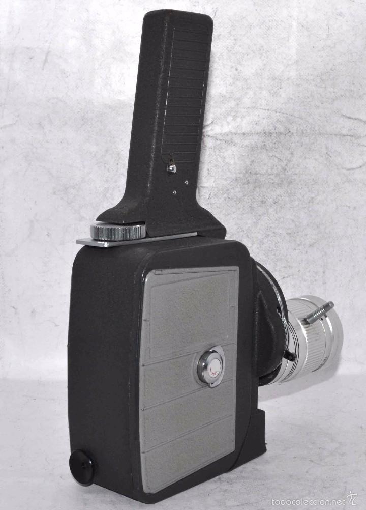 Antigüedades: EXCELENTE Y RARA CAMARA DE CINE A CUERDA..8mm..MANSFIELD HOLIDAY ZOOM MM..MUY BUEN ESTADO..FUNCIONA - Foto 9 - 61269607