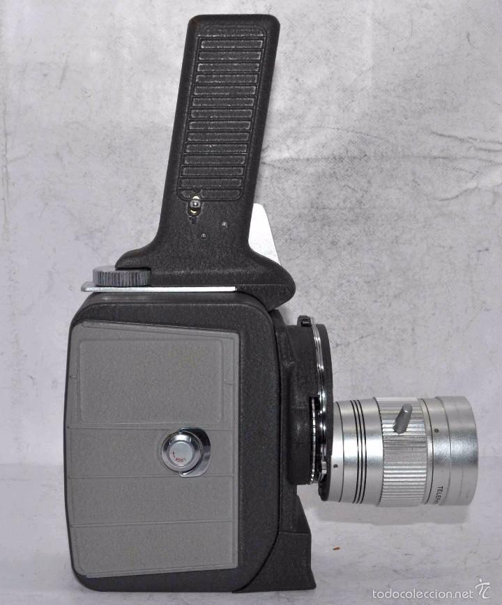 Antigüedades: EXCELENTE Y RARA CAMARA DE CINE A CUERDA..8mm..MANSFIELD HOLIDAY ZOOM MM..MUY BUEN ESTADO..FUNCIONA - Foto 10 - 61269607