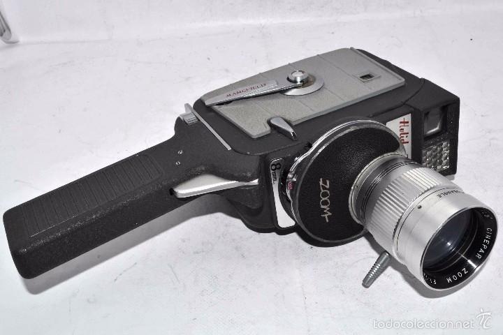 Antigüedades: EXCELENTE Y RARA CAMARA DE CINE A CUERDA..8mm..MANSFIELD HOLIDAY ZOOM MM..MUY BUEN ESTADO..FUNCIONA - Foto 11 - 61269607