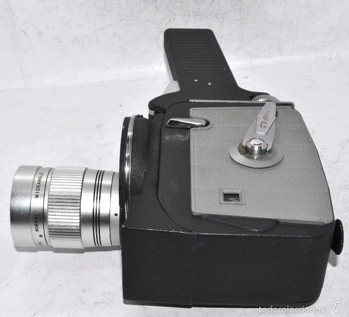 Antigüedades: EXCELENTE Y RARA CAMARA DE CINE A CUERDA..8mm..MANSFIELD HOLIDAY ZOOM MM..MUY BUEN ESTADO..FUNCIONA - Foto 13 - 61269607