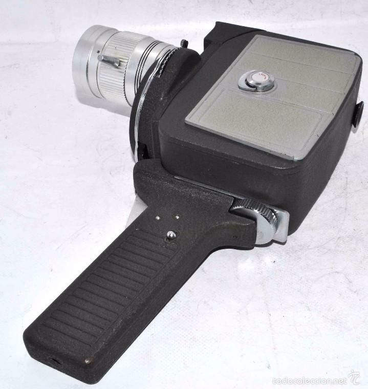 Antigüedades: EXCELENTE Y RARA CAMARA DE CINE A CUERDA..8mm..MANSFIELD HOLIDAY ZOOM MM..MUY BUEN ESTADO..FUNCIONA - Foto 15 - 61269607