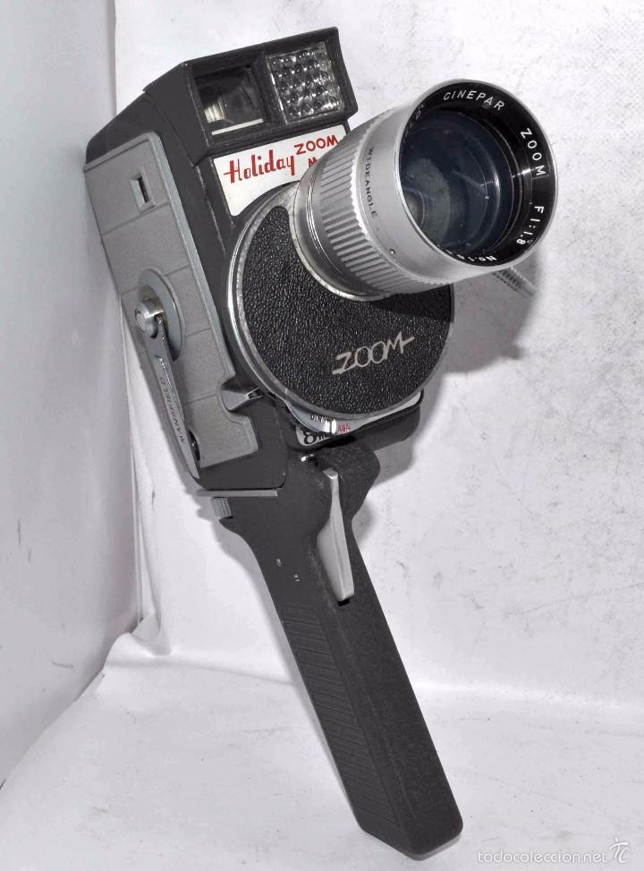 Antigüedades: EXCELENTE Y RARA CAMARA DE CINE A CUERDA..8mm..MANSFIELD HOLIDAY ZOOM MM..MUY BUEN ESTADO..FUNCIONA - Foto 17 - 61269607
