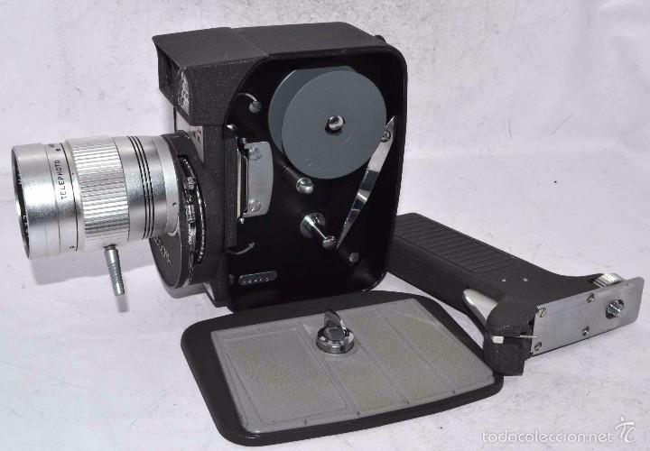 Antigüedades: EXCELENTE Y RARA CAMARA DE CINE A CUERDA..8mm..MANSFIELD HOLIDAY ZOOM MM..MUY BUEN ESTADO..FUNCIONA - Foto 20 - 61269607