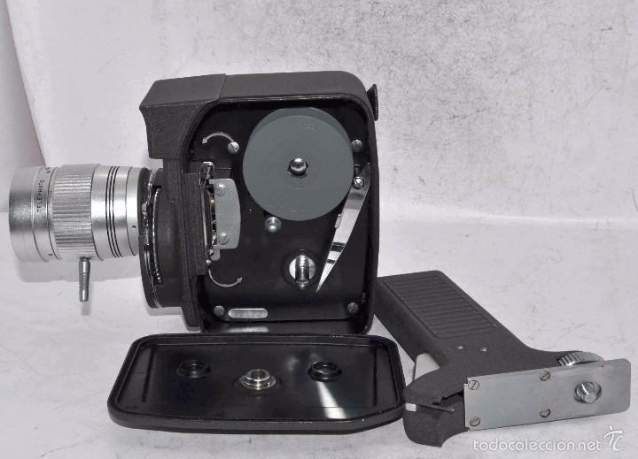 Antigüedades: EXCELENTE Y RARA CAMARA DE CINE A CUERDA..8mm..MANSFIELD HOLIDAY ZOOM MM..MUY BUEN ESTADO..FUNCIONA - Foto 21 - 61269607