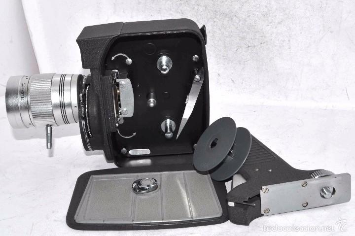 Antigüedades: EXCELENTE Y RARA CAMARA DE CINE A CUERDA..8mm..MANSFIELD HOLIDAY ZOOM MM..MUY BUEN ESTADO..FUNCIONA - Foto 22 - 61269607