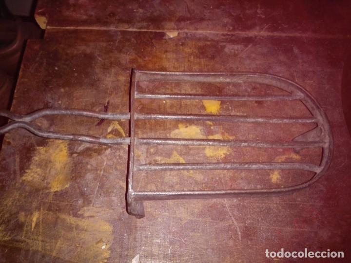 Antigüedades: Base plancha . Hierro - fundición. - Foto 2 - 61398323