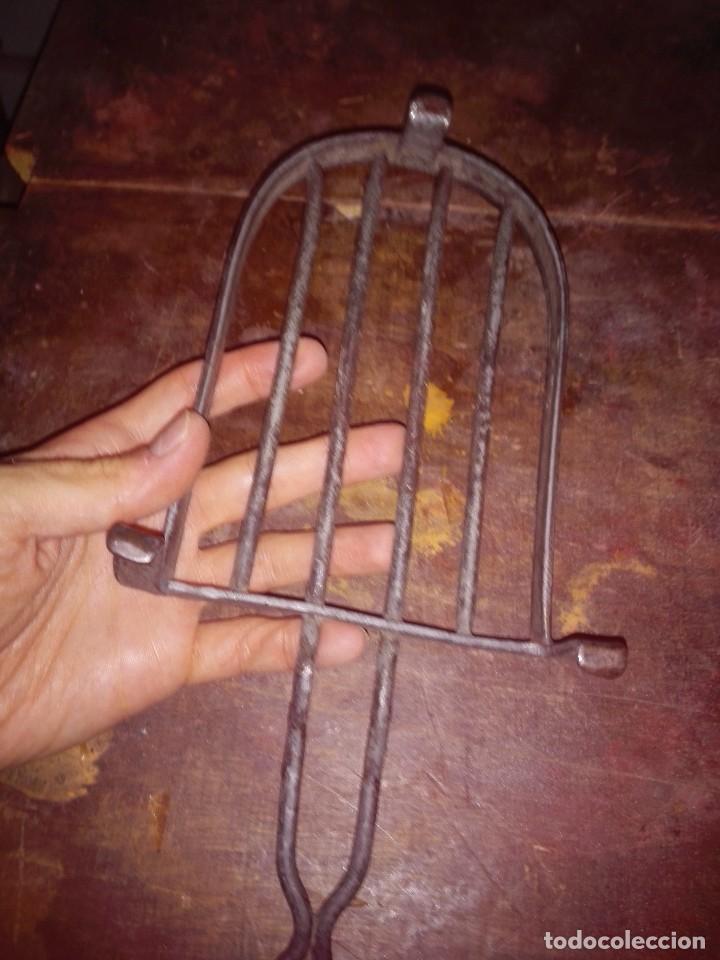 Antigüedades: Base plancha . Hierro - fundición. - Foto 3 - 61398323