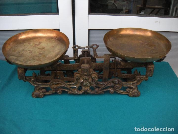 ANTIGUO PESO BALANZA (Antigüedades - Técnicas - Medidas de Peso - Balanzas Antiguas)