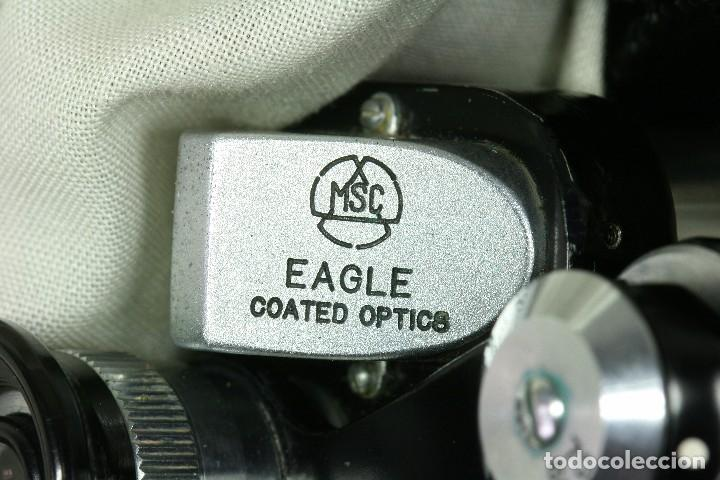 Antigüedades: Prismáticos Eagle. 8 x 20. Japón. - Foto 7 - 61478399