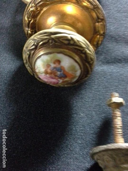 Antigüedades: Lote de tiradores para cajones - Foto 5 - 61488255