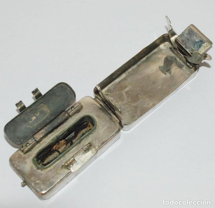 Antigüedades: Antiguo esterilizador quemador médico jeringuillas agujas cuchillas. - Foto 3 - 61503103