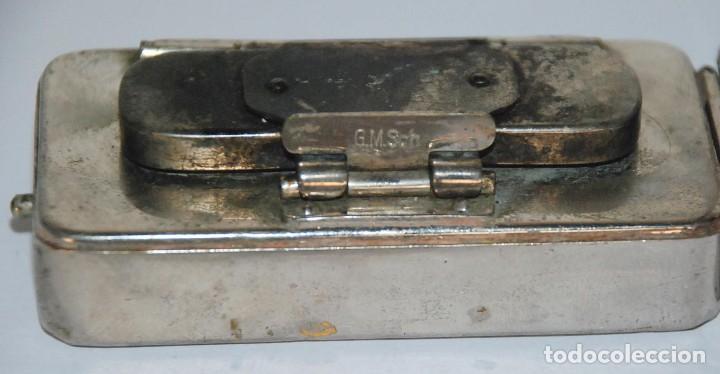 Antigüedades: Antiguo esterilizador quemador médico jeringuillas agujas cuchillas. - Foto 4 - 61503103