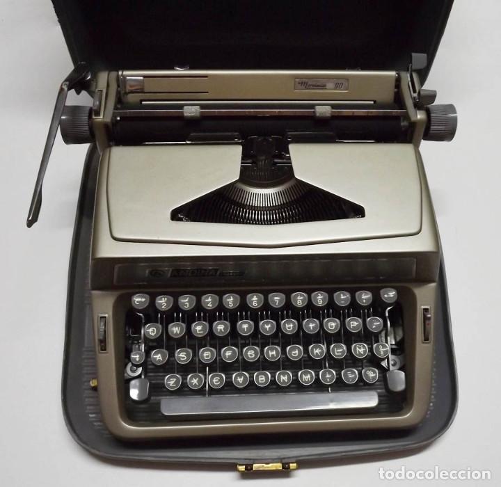 MÁQUINA DE ESCRIBIR ANDINA MODELO 90 (Antigüedades - Técnicas - Máquinas de Escribir Antiguas - Otras)