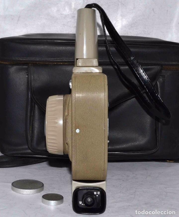 Antigüedades: CINE A CUERDA..FILMADORA 8 mm..SEKONIC DUALMATIC ZOOM+FUNDA..JAPON 1964..MUY BUEN ESTADO..FUNCIONA - Foto 12 - 61564480