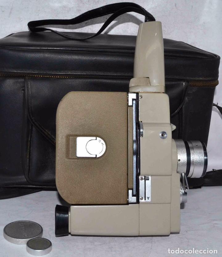 Antigüedades: CINE A CUERDA..FILMADORA 8 mm..SEKONIC DUALMATIC ZOOM+FUNDA..JAPON 1964..MUY BUEN ESTADO..FUNCIONA - Foto 14 - 61564480