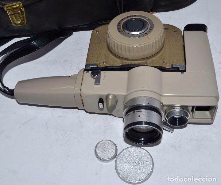 Antigüedades: CINE A CUERDA..FILMADORA 8 mm..SEKONIC DUALMATIC ZOOM+FUNDA..JAPON 1964..MUY BUEN ESTADO..FUNCIONA - Foto 15 - 61564480