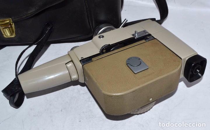 Antigüedades: CINE A CUERDA..FILMADORA 8 mm..SEKONIC DUALMATIC ZOOM+FUNDA..JAPON 1964..MUY BUEN ESTADO..FUNCIONA - Foto 17 - 61564480