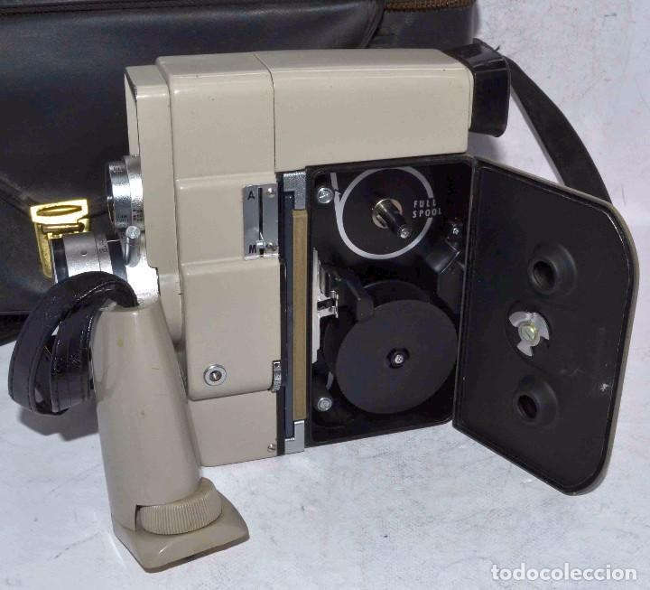 Antigüedades: CINE A CUERDA..FILMADORA 8 mm..SEKONIC DUALMATIC ZOOM+FUNDA..JAPON 1964..MUY BUEN ESTADO..FUNCIONA - Foto 18 - 61564480