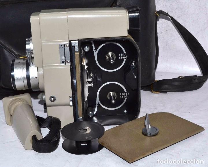 Antigüedades: CINE A CUERDA..FILMADORA 8 mm..SEKONIC DUALMATIC ZOOM+FUNDA..JAPON 1964..MUY BUEN ESTADO..FUNCIONA - Foto 20 - 61564480