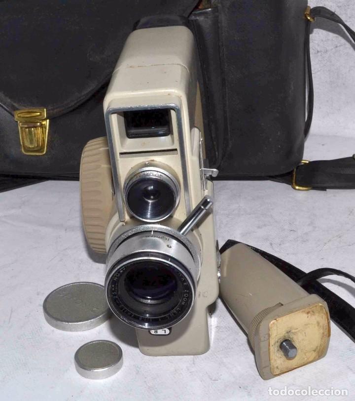 Antigüedades: CINE A CUERDA..FILMADORA 8 mm..SEKONIC DUALMATIC ZOOM+FUNDA..JAPON 1964..MUY BUEN ESTADO..FUNCIONA - Foto 23 - 61564480