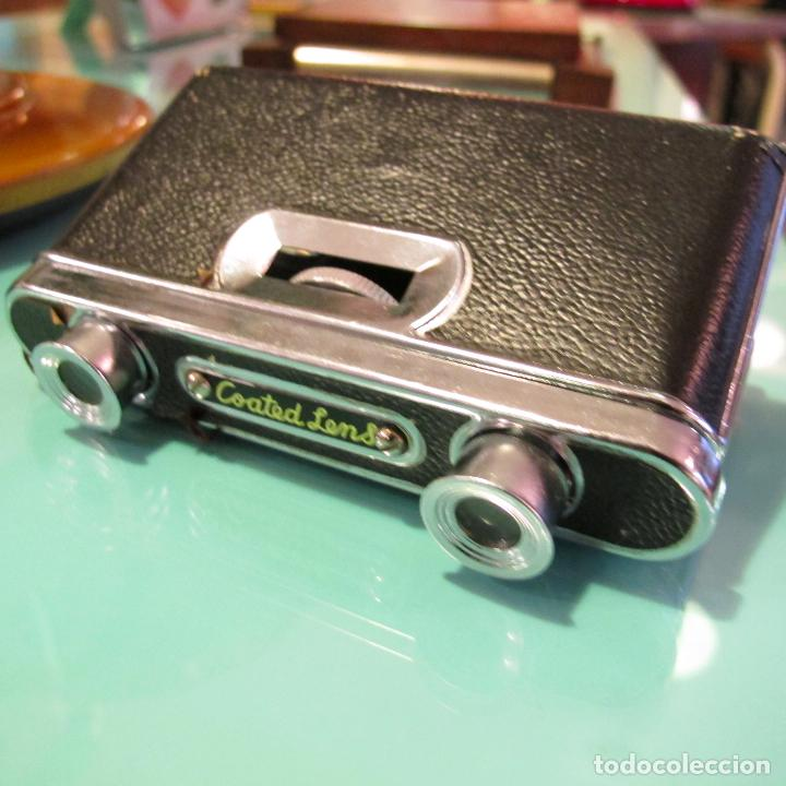 Antigüedades: binoculares sightseer coated lens lentes opera prismaticos antiguos - Foto 2 - 61570876