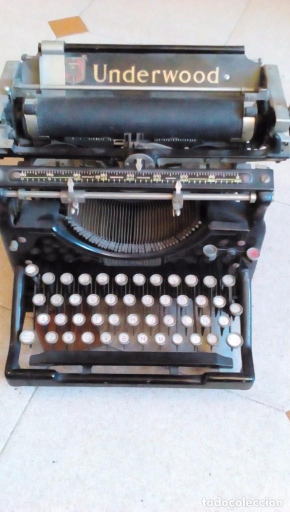 MAQUINA DE ESCRIBIR UNDERWOOD DE LOS AÑOS 20 (Antigüedades - Técnicas - Máquinas de Escribir Antiguas - Underwood)