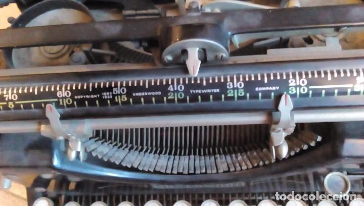 Antigüedades: MAQUINA DE ESCRIBIR UNDERWOOD DE LOS AÑOS 20 - Foto 12 - 61634028