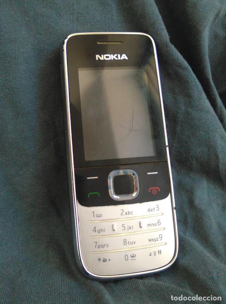 Usado, Teléfono Móvil Nokia 2730 Classic, con cargador original. Funciona, con pantalla rota. segunda mano